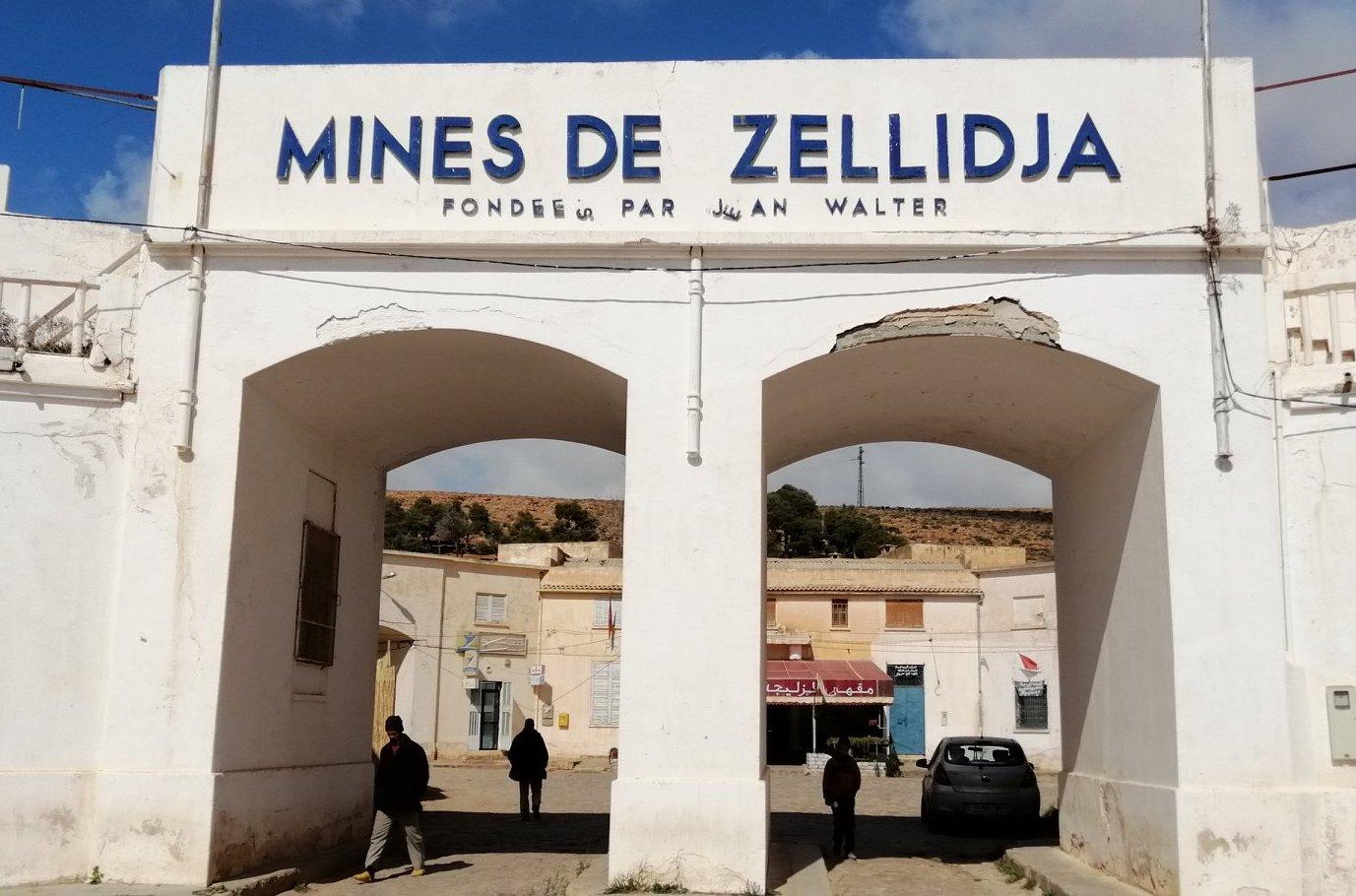 Les mines de Zellidja